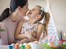 Pasen is liefde stock afbeeldingen