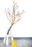 Pasen-magnoliatak Royalty-vrije Stock Afbeeldingen