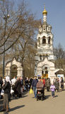 Pasen in Moskou Royalty-vrije Stock Foto