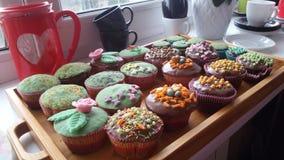 Pasen-muffins Royalty-vrije Stock Afbeeldingen