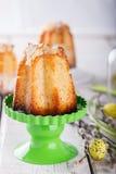 Pasen, muffins Stock Foto