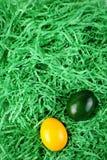 Pasen-nest Stock Foto's