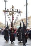 Pasen-optocht in Perpignan Royalty-vrije Stock Foto