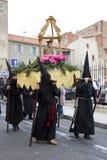 Pasen-optocht in Perpignan Royalty-vrije Stock Foto's