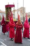 Pasen-optocht in Perpignan Royalty-vrije Stock Fotografie