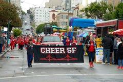 Pasen-Parade in San Francisco, Unie Straat Royalty-vrije Stock Foto's