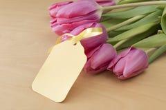 Pasen-Tulpen Royalty-vrije Stock Afbeelding