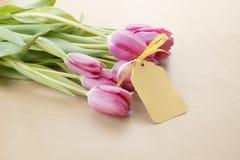 Pasen-Tulpen Royalty-vrije Stock Foto