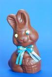 Pasen van de chocolade konijntje stock foto