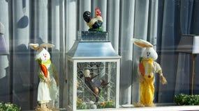 Pasen-venster Royalty-vrije Stock Foto