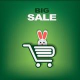 Pasen-verkoopmalplaatje Stock Illustratie