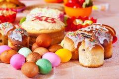 Pasen-voedsel Stock Afbeeldingen