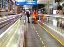 Pasengers d'aéroport Image libre de droits