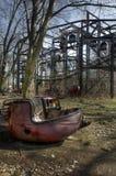 Paseo abandonado Fotografía de archivo libre de regalías
