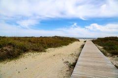 Paseo adelante Imagen de archivo libre de regalías