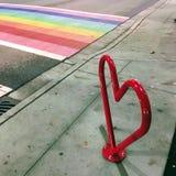 Paseo con orgullo en Vancouver Fotos de archivo