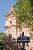 Paseo de伊莎贝尔la Catolica 库存图片