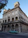 Paseo de马蒂& x28; Paseo del Prado& x29;  Havanna 免版税库存图片