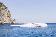 Paseo de alta velocidad del barco Foto de archivo