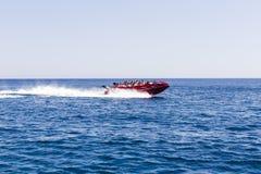 Paseo de alta velocidad del barco Fotografía de archivo