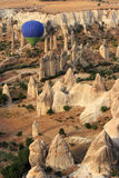 Paseo de Balloom del aire caliente sobre Cappadocia Imagenes de archivo