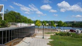 Paseo de Chattanooga el río Tennessee Fotografía de archivo libre de regalías