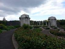 Paseo de Dublin Ireland del parque de la memoria Imagen de archivo
