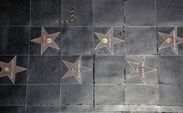 Paseo de Hollywood de la fama Fotografía de archivo