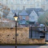 Paseo de Jowett, Oxford, Reino Unido, el 22 de enero de 2017: Victoriano Fotos de archivo libres de regalías