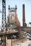 Paseo de la bici de Nueva York Foto de archivo libre de regalías