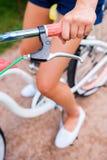 Paseo de la bicicleta Foto de archivo libre de regalías