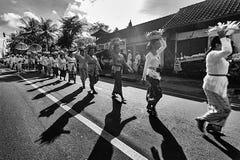 Paseo de la calle Fotos de archivo