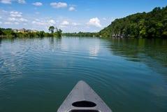 Paseo de la canoa imágenes de archivo libres de regalías