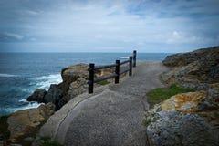 Paseo de la costa Fotos de archivo libres de regalías
