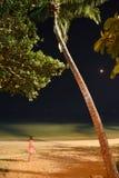 Paseo de la noche Fotografía de archivo libre de regalías