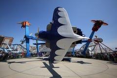 Paseo de la raza del aire en Coney Island Luna Park Imagen de archivo