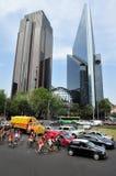Paseo de la Reforma i Mexico - stad Royaltyfri Bild