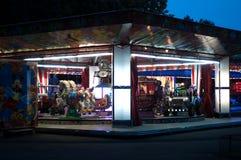 Paseo de los animales del parque de atracciones imagen de archivo libre de regalías