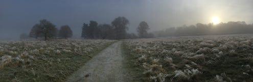 Paseo de los inviernos Imagen de archivo libre de regalías
