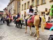 Paseo de los reyes, ceremonial cultural, la UNESCO Foto de archivo