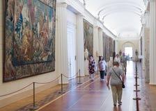 Paseo de los visitantes en la ermita Fotos de archivo libres de regalías