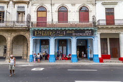 Paseo de Marti (Prada), Havana, Cuba #1 Fotos de Stock Royalty Free