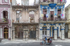 Paseo de Marti (Prada), Havana, Cuba #2 Imagens de Stock Royalty Free