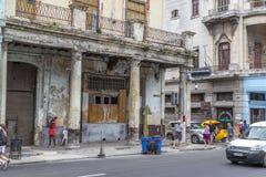 Paseo de Marti (Prada), Havana, Cuba #4 Fotografia de Stock Royalty Free