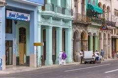 Paseo de Marti (Prada), Havana, Cuba #10 Imagem de Stock