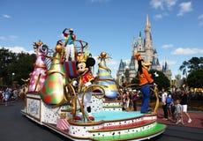 Paseo de Mickeys Fotografía de archivo libre de regalías