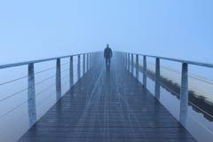 Paseo de niebla Imagen de archivo