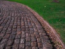 Paseo de piedra Foto de archivo