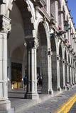 Paseo De portail Flores à Arequipa, Pérou Images stock