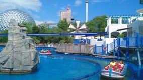 Paseo de Poseidon del parque del Europa foto de archivo